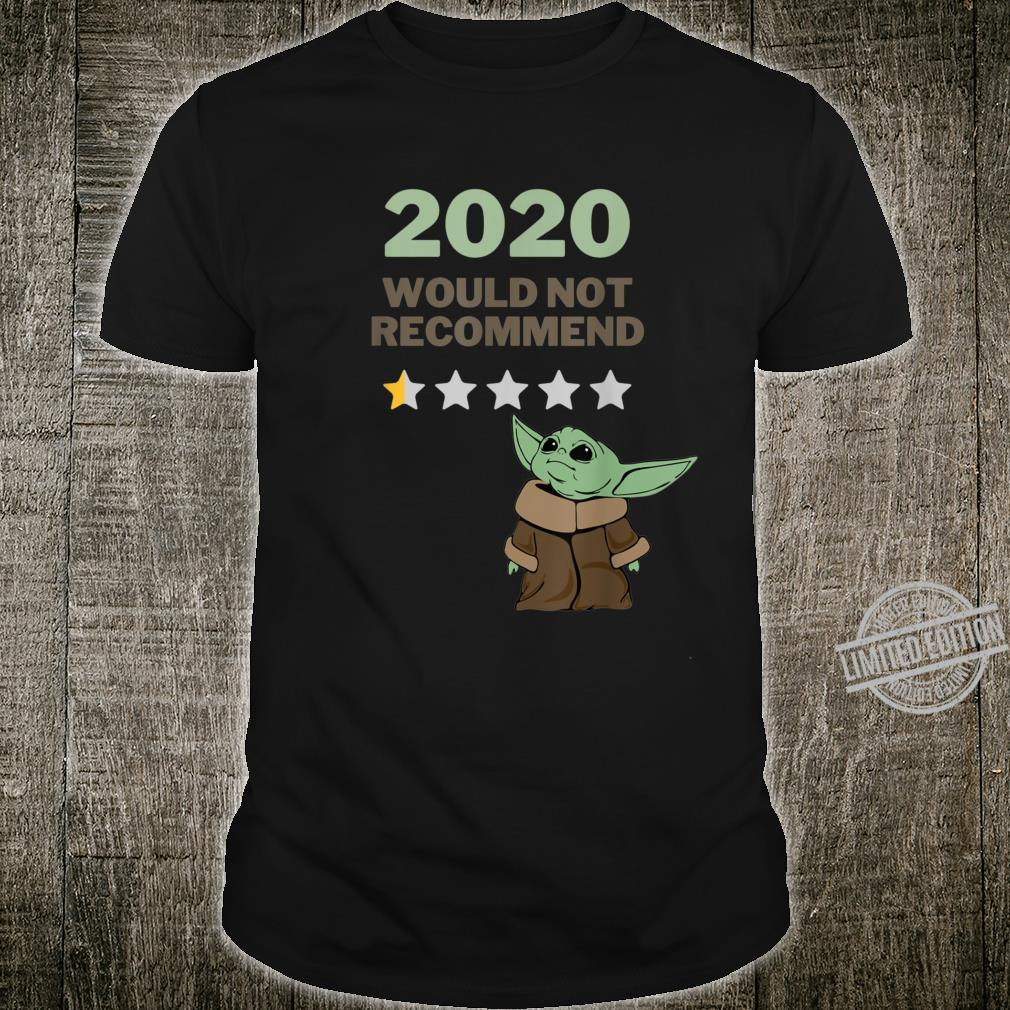 2020 Would Not Recommend 12 Star Shirt for Space Alien Fans Shirt
