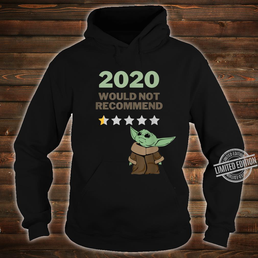 2020 Would Not Recommend 12 Star Shirt for Space Alien Fans Shirt hoodie