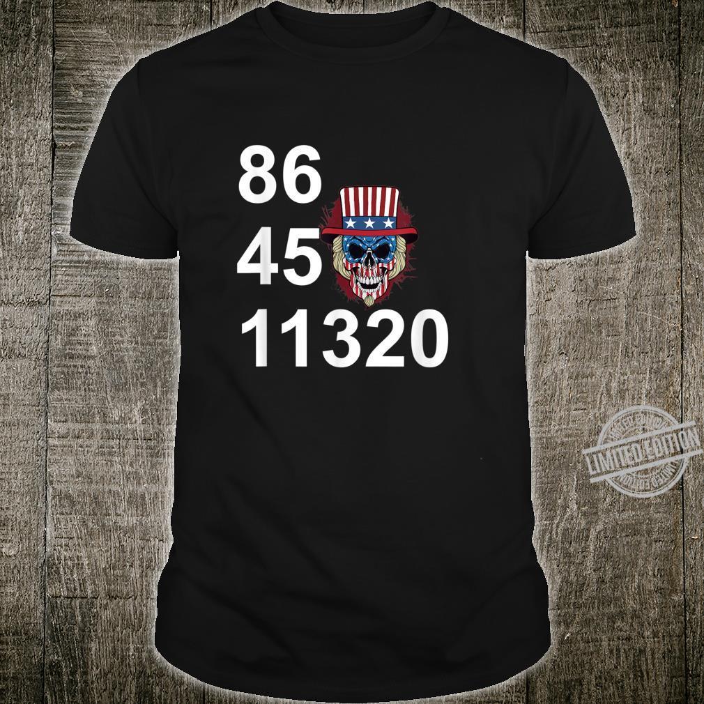 864511320 Anti Trump 2020 Political Shirt