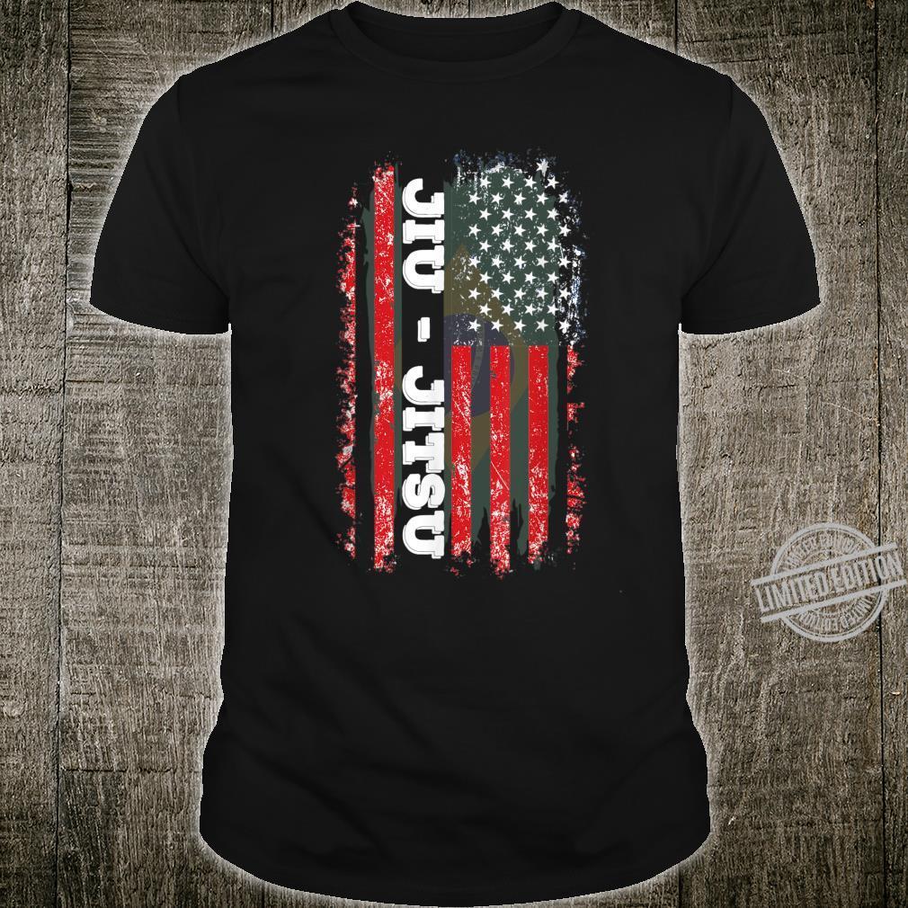 Brazilian BJJ Jiu Jitsu Flag America Martial Art Shirt