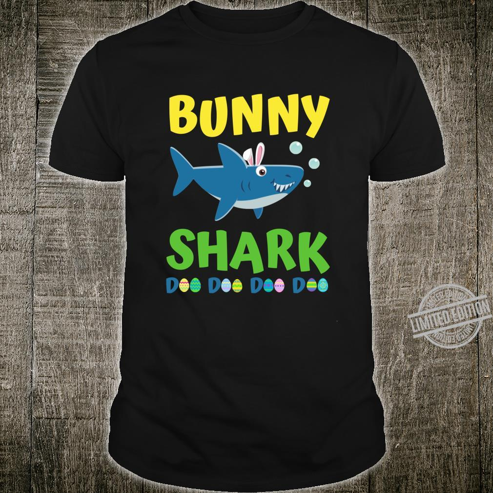 Bunny Shark Shirt Bunny Easter Shirt Toddler Shirt