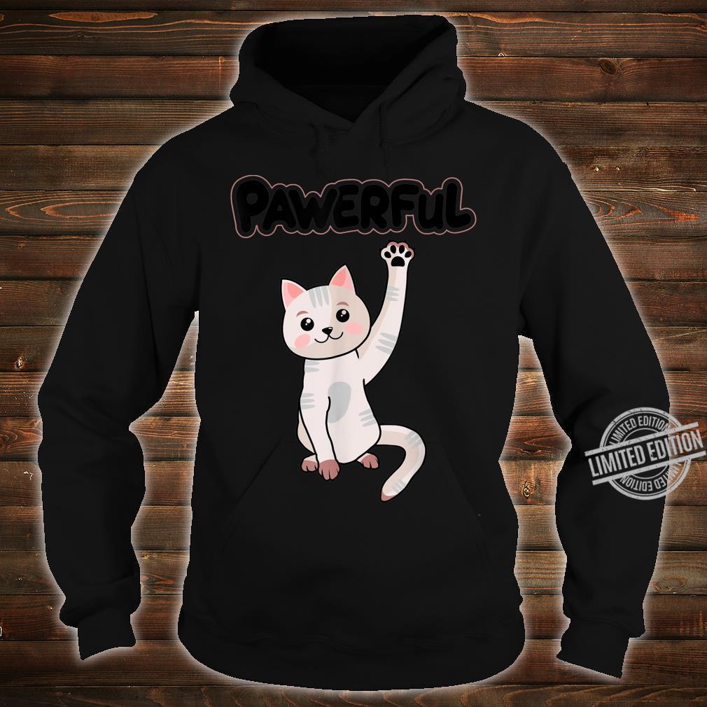 Cat Paw Shirt hoodie