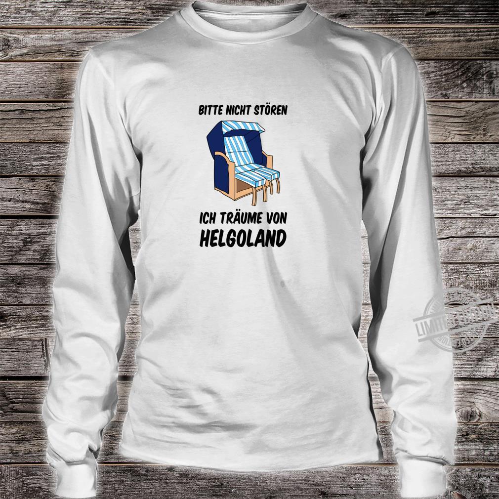 Helgoland Nordseeinsel Nordsee Norddeutschland Norddeutsch Shirt long sleeved