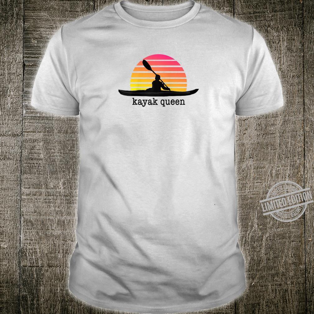 Kayak Queen Best Kayaker Award Kayaking Girl Shirt