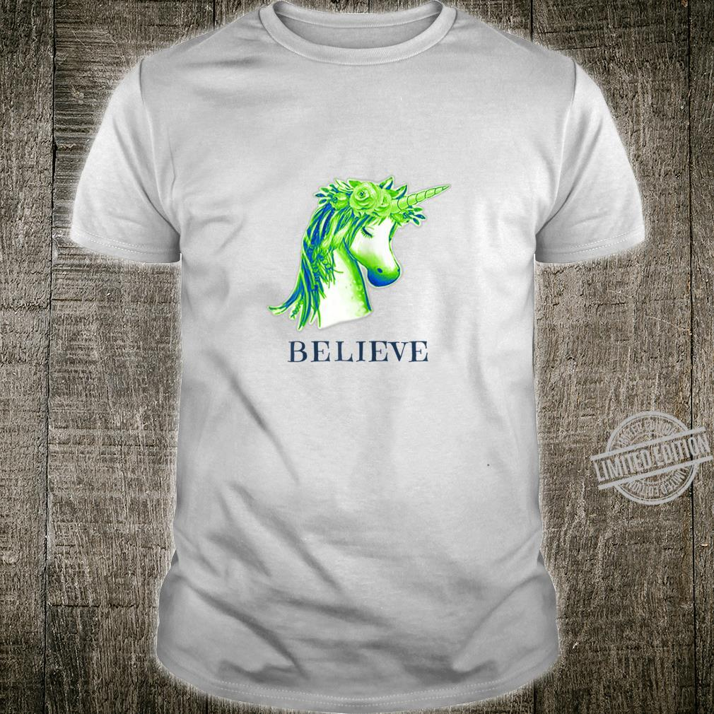Magical Unicorn Believe Shirt