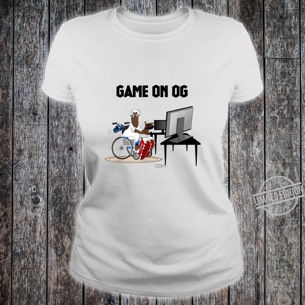 Mens GAME ON OG Shirt ladies tee