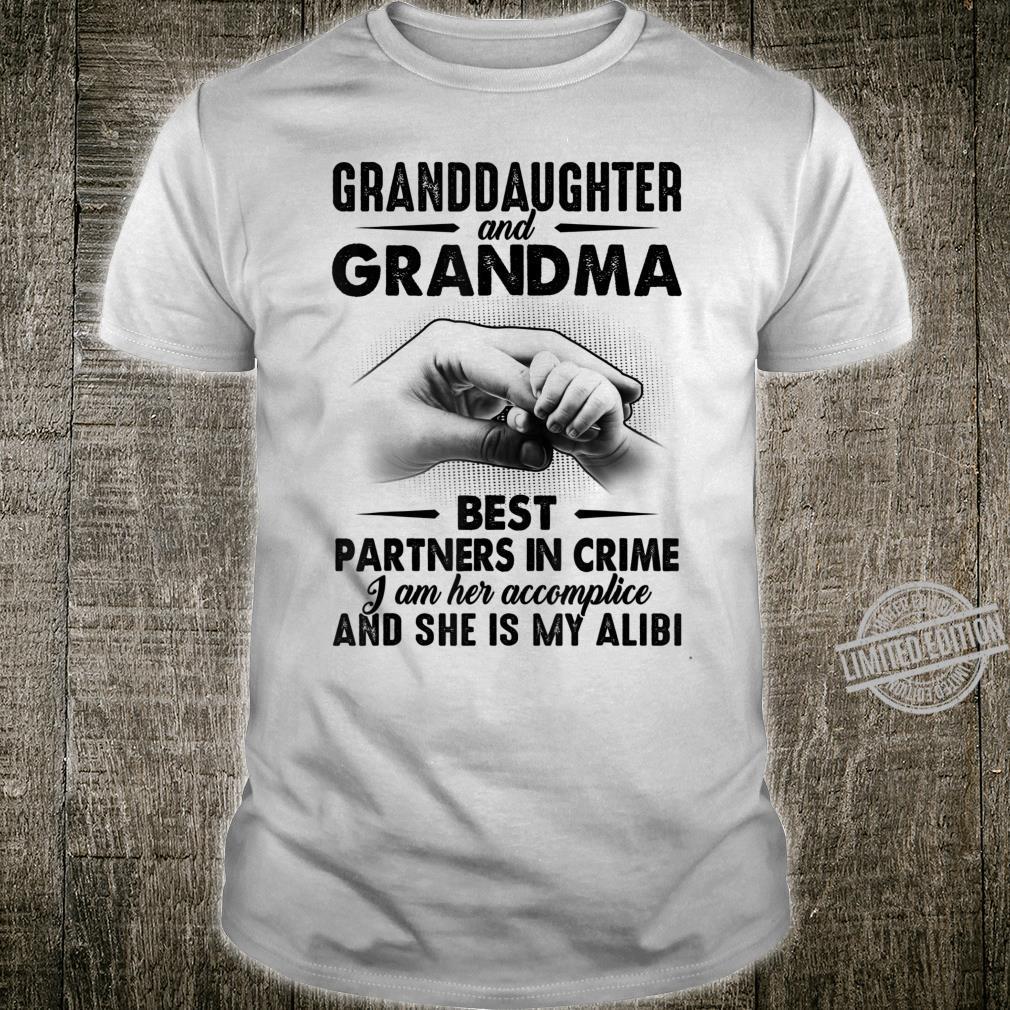 Mens Granddaughter and Grandma Best Partners In Crime Shirt
