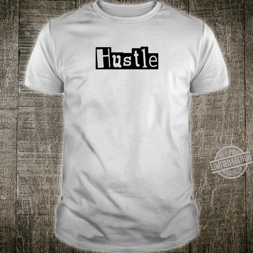 Mens HUSTLE Gym Fitness Workout Motivational Design F261 Shirt