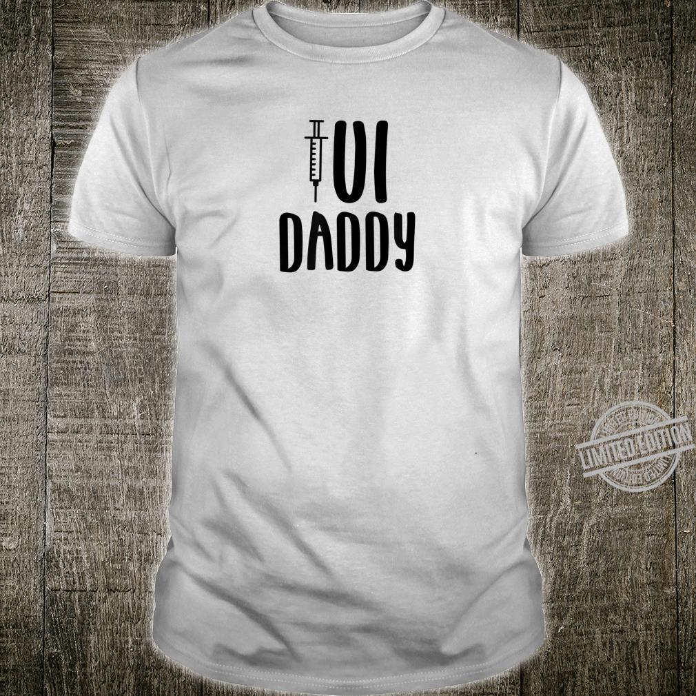 Mens IUI Dad Infertility Awareness Support Husband Wife Shirt