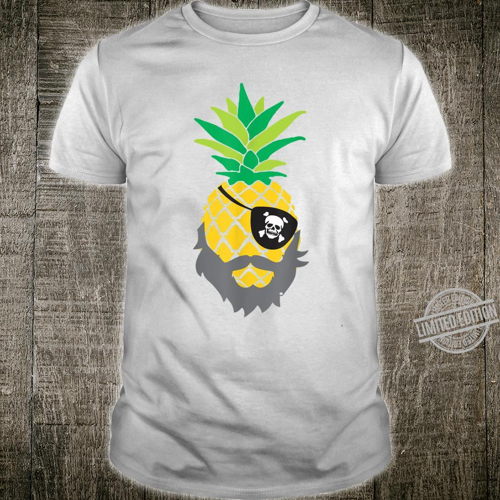 Pineapple pirate eye patch pool party Shirt