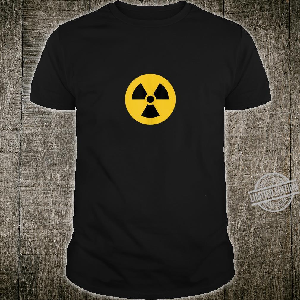 Radiation Hazard Symbol Shirt