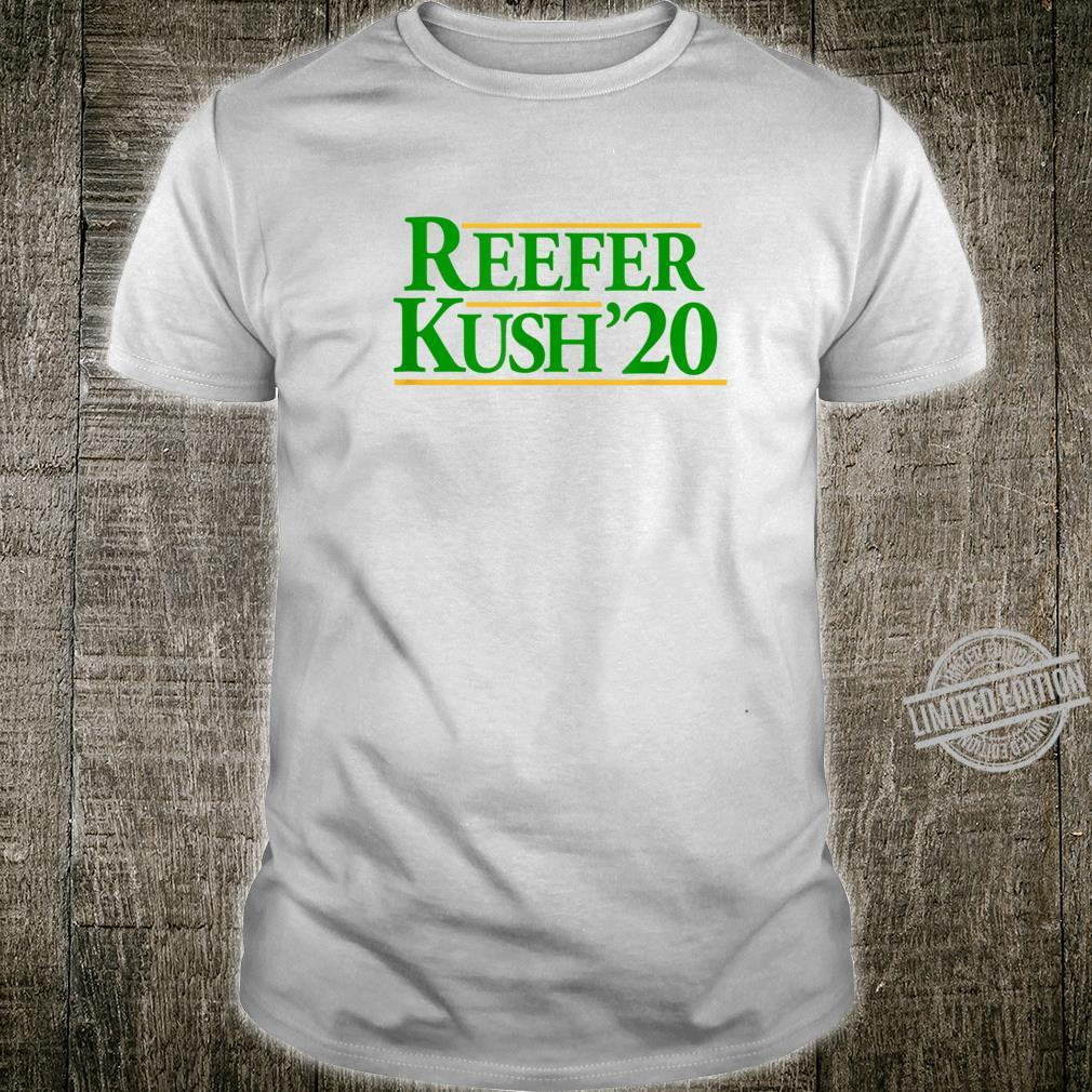 Reefer Kush 420 Weed Political Campaign Parody Smokers Shirt