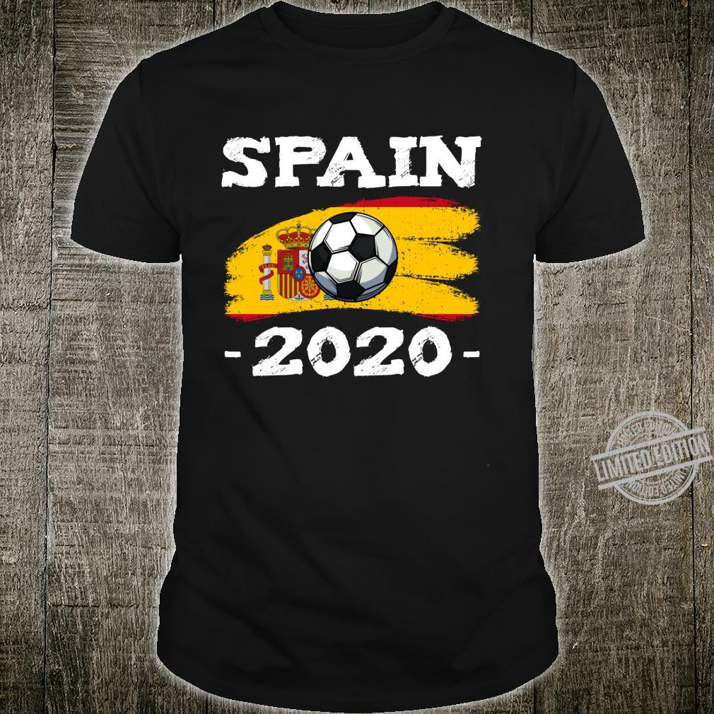Spain 2020 Soccer Fussball Spanien Fan Land Espana Langarmshirt Shirt