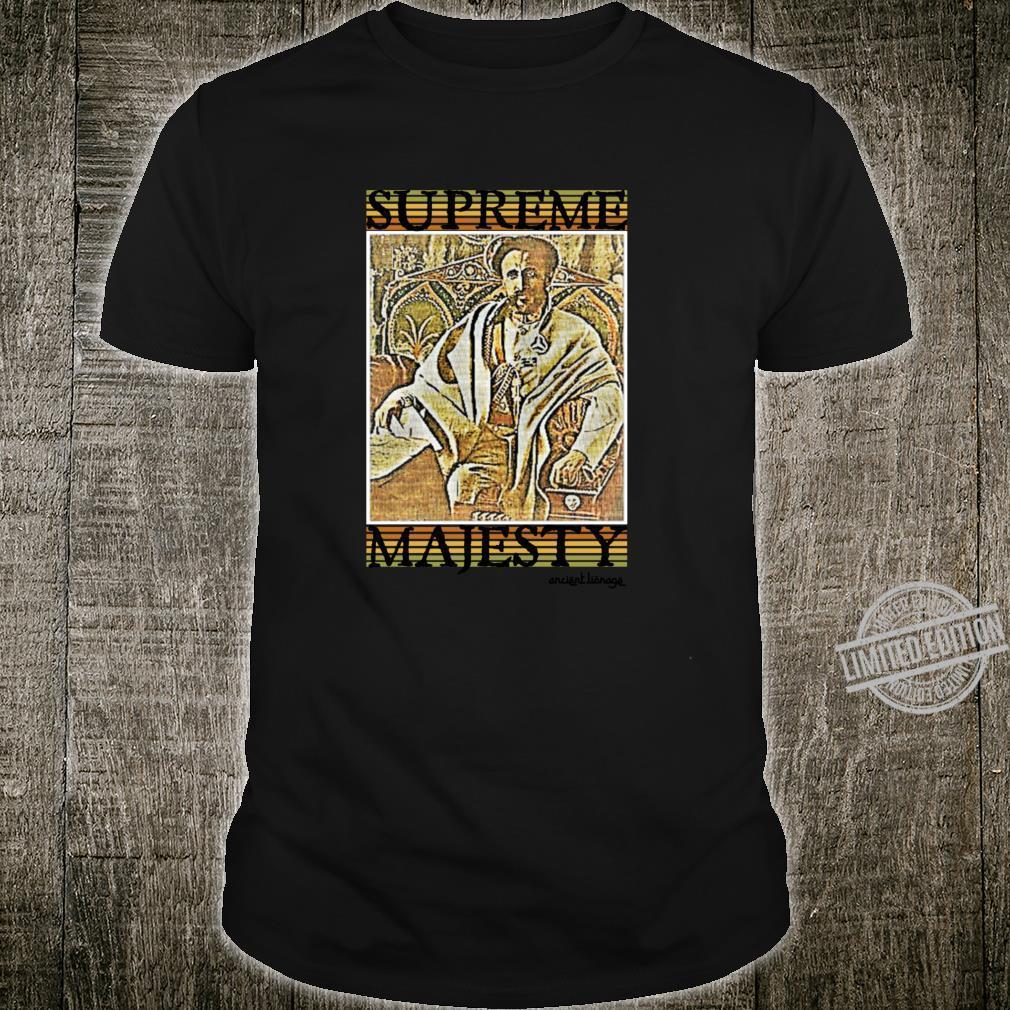 Supreme Majesty Royal Rastafari Glory Shirt