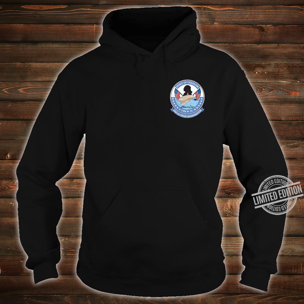 USS George Washington CNV73 Shirt hoodie