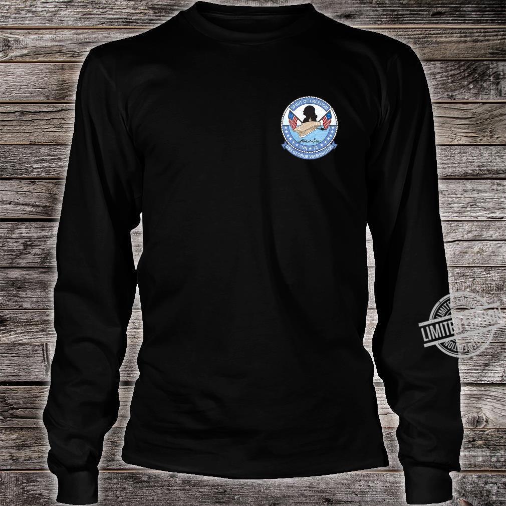 USS George Washington CNV73 Shirt long sleeved