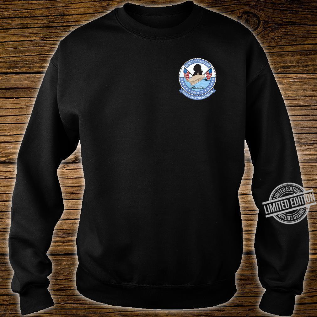 USS George Washington CNV73 Shirt sweater