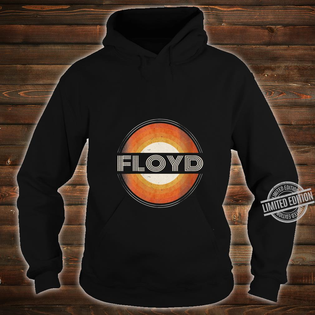 Womens 365 First Name Floyd Retro Personalized Vintage Shirt hoodie