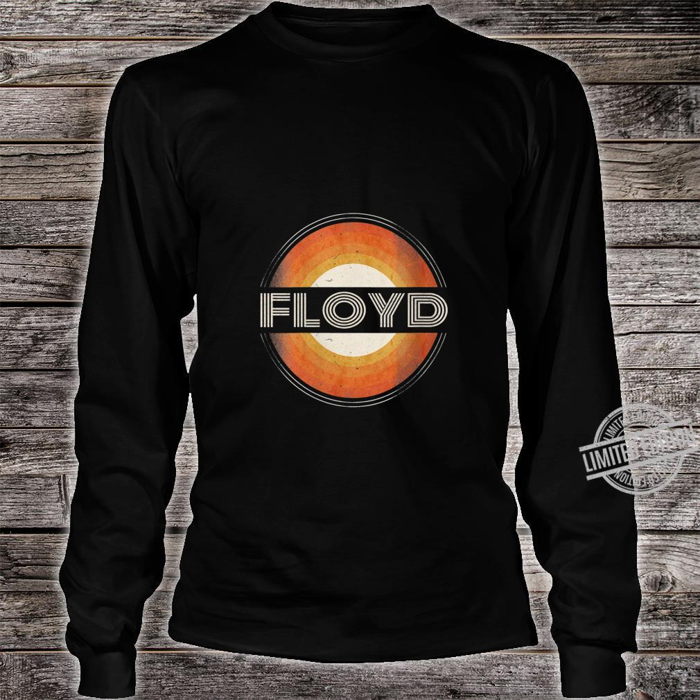 Womens 365 First Name Floyd Retro Personalized Vintage Shirt long sleeved