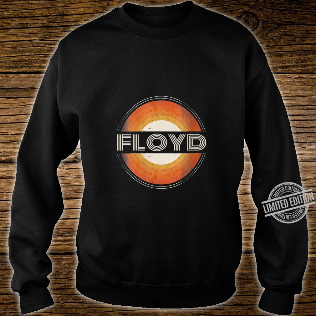 Womens 365 First Name Floyd Retro Personalized Vintage Shirt sweater