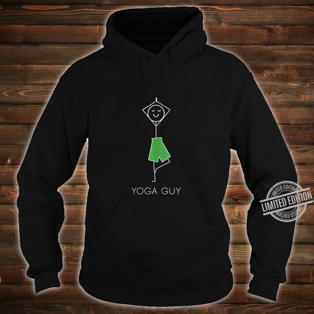 Yoga Guy Stand Pose Cool Exercise Meditation Yoga Shirt hoodie