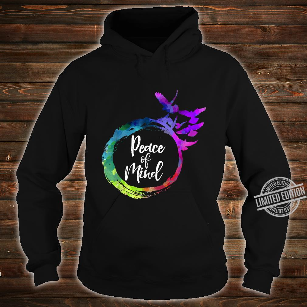 Yoga Music Birds Peace of Mind Studio Shirt hoodie